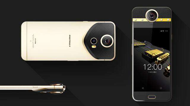 Here's The First Smartphone With A 360-Degree Camera