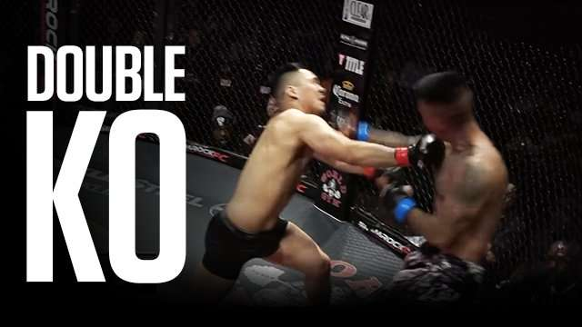 MMA Bout Culminates In Beautiful Double Knockout