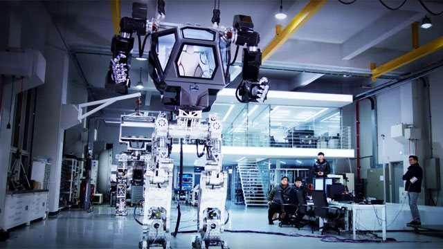 Whoa! Amazon's CEO Just Piloted A Giant Robot