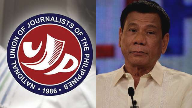NUJP Slams Duterte Over Media Tirade: 'Ikaw Ang Bastos'
