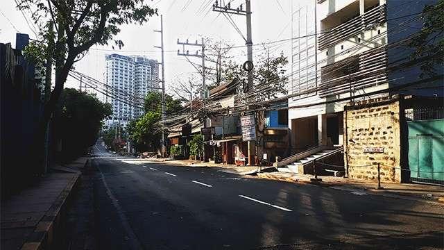 Metro Manila As A Ghost Town During Holy Week