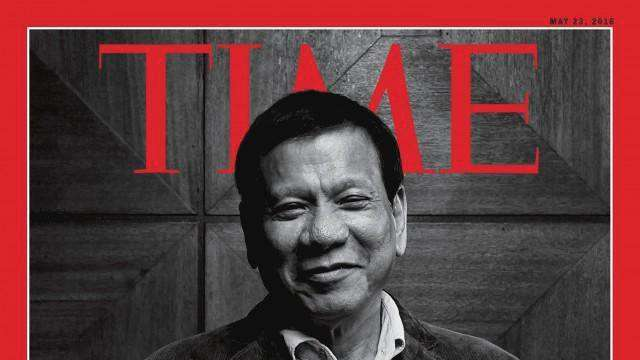 Duterte Tops TIME's Most Influential Poll