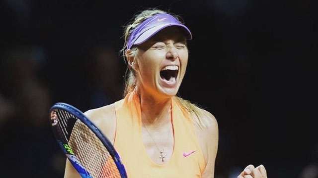 Tennis Superstar Maria Sharapova Is Back For The Win