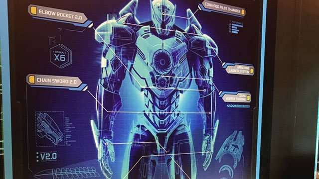 LOOK: A Sneak Peek Of The New 'Pacific Rim' Robot
