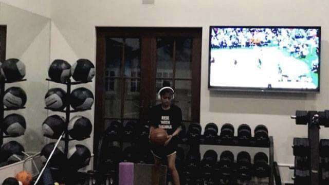 Kobe Bryant's Daughter Already Has His Trademark Jump Shot
