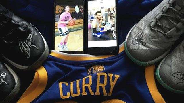 Stephen Curry Fulfills Teenage Fil-Am Fan's Dying Wish