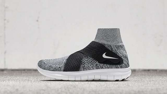 nike running free run motion flyknit