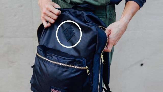 So This Is Why Your Backpack Has A Diamond Patch