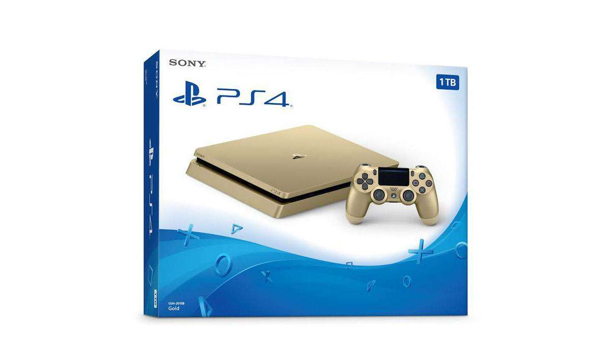 LOOK: The Gold PlayStation 4 Hype Is Real