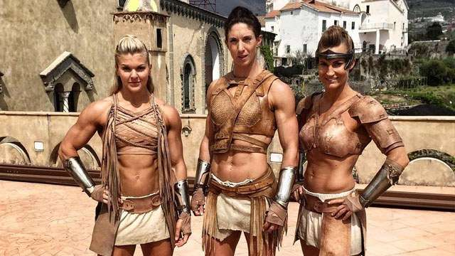 Check Out The Fit And Fierce Amazon Warriors Of 'Wonder Woman'