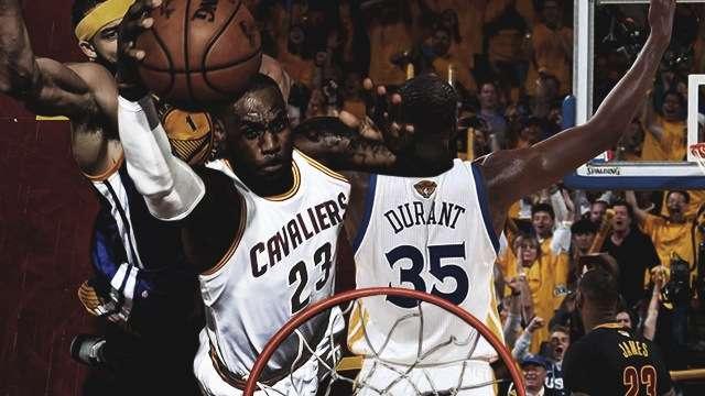 The Ultimate NBA Finals 2017 Highlight Reel (So Far)