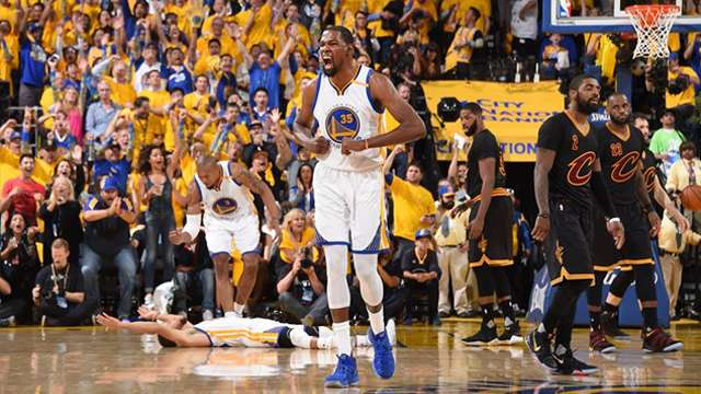 Kevin Durant Is More Than Deserving Of The 2017 NBA Finals MVP