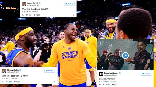 The Most Hilarious Social Media Reactions To The Warriors Claiming Victory
