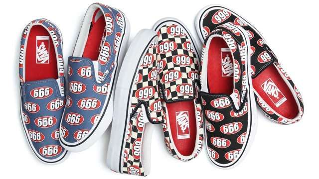 Who Wants A Pair From The Supreme x Vans '666' Slip-On Collab?