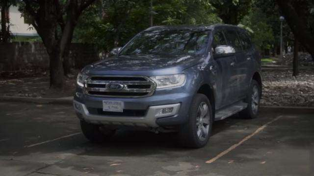 Whoa! The New Ford Everest Can Park Itself