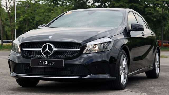 The Mercedes-Benz A-Class A180 Urban Is A Luxury Car For The Young