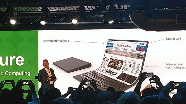 LOOK: Lenovo Has A Laptop With A Flexible Screen