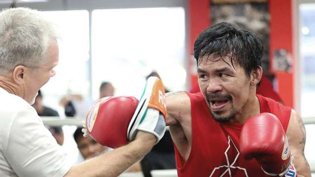 Pacquiao Already In Top Form For Upcoming Horn Fight