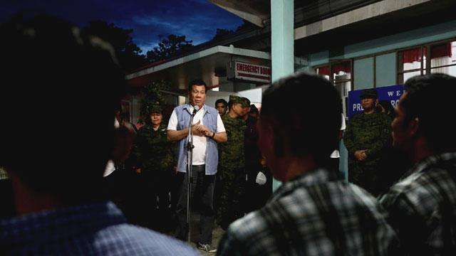 Duterte Reappears After A Week Of Being MIA