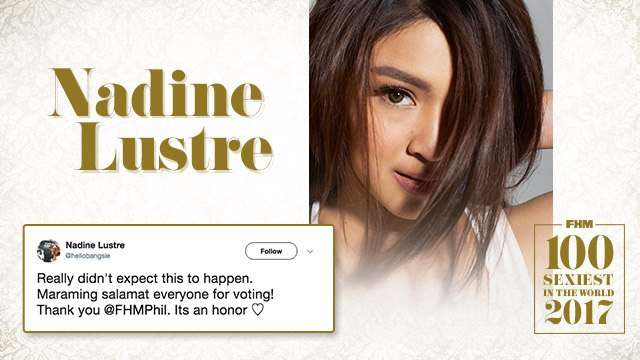 The Best Social Media Reactions To Nadine Lustre Winning Finest In The Land