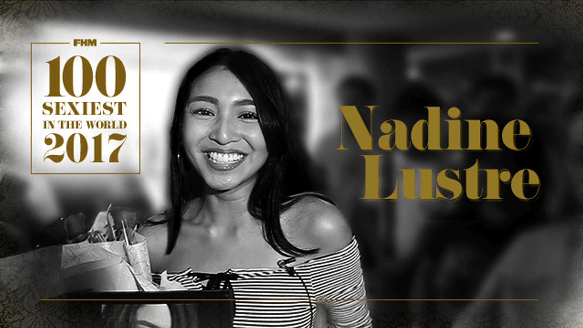 Nadine Lustre, Sexiest In The Land, Has A Message For FHM Nation
