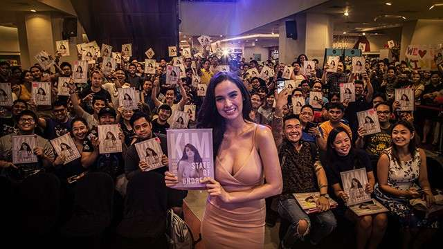 Kim Domingo Bares Her Soul During The 'State Of Undress' Book Signing