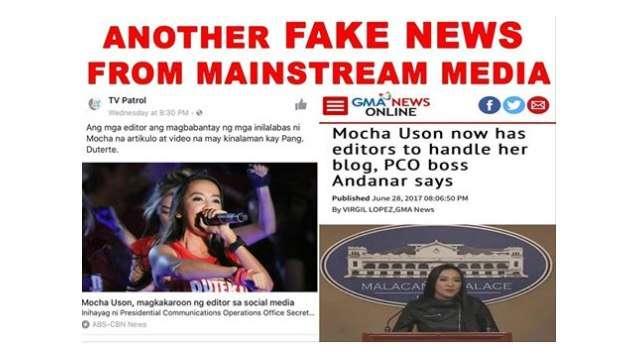 Mocha Uson Clarifies: We Didn't Hire Editors For Blog