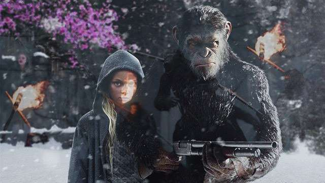 'War For The Planet Of The Apes' Ends Trilogy With Blood, Bullets, And Beatdowns
