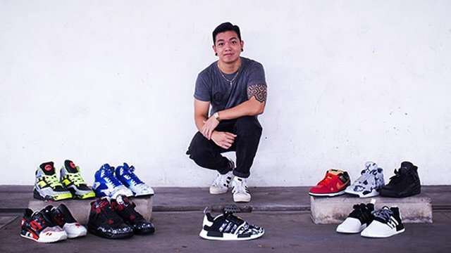 This Sneaker Artist Has Customs Down To A Craft