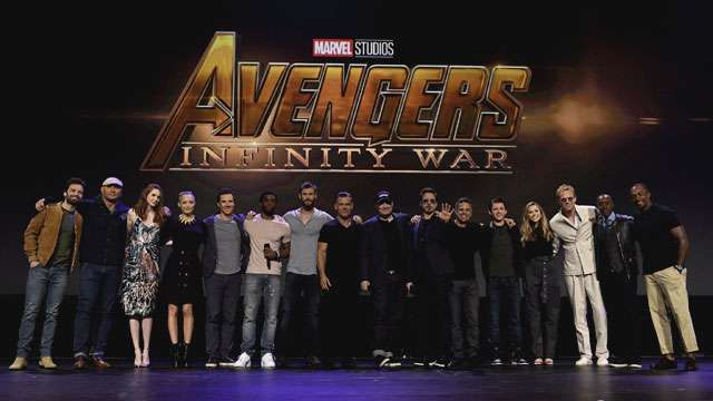 'Avengers: Infinity War' Cast Assembles At The D23 Expo