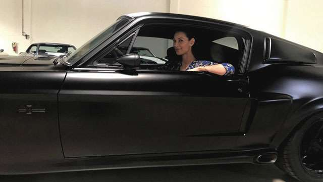 Angie King Surprises Joey Mead With A Custom Mustang