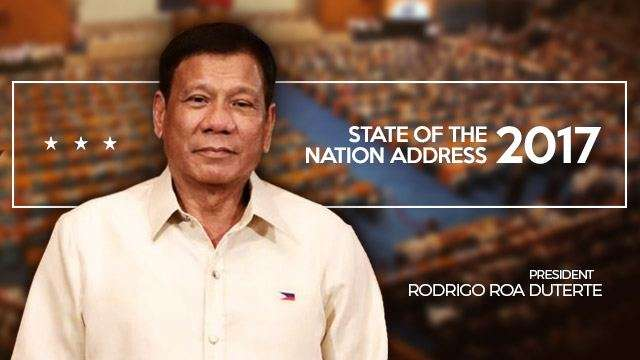 10 Quotes That Pretty Much Sum Up Duterte's #SONA2017