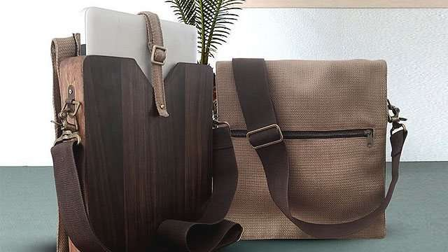 These Locally Made Wooden Laptop Bags Are Just What You Need