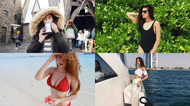 See Where The Country's Sexiest Ladies Spent Their Holidays In 2017