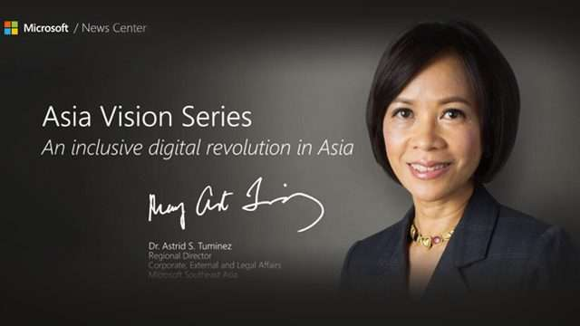Pinay Microsoft Executive: 'Asia's Youth Key To Regional Growth'