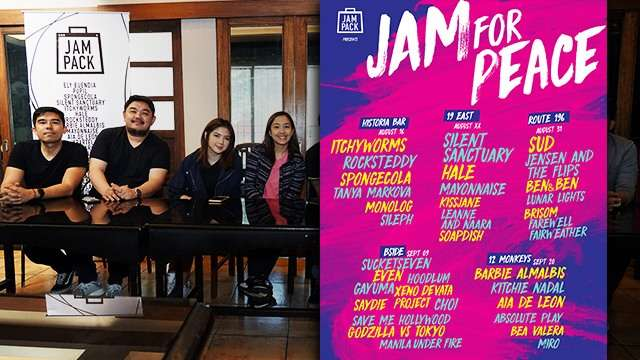 Jam For Peace Will Help Raise Funds For Marawi Through Music