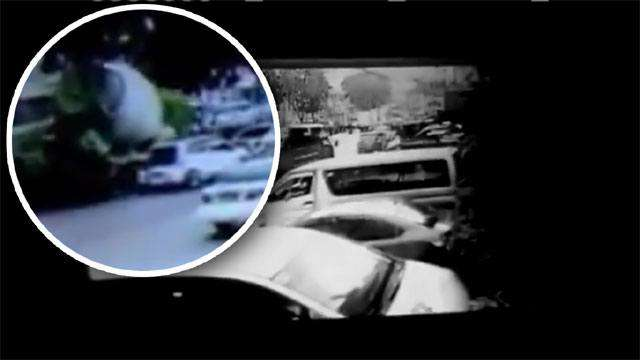 Driver Dead, 4 Injured After Cement Mixer Crushes Family Car In QC