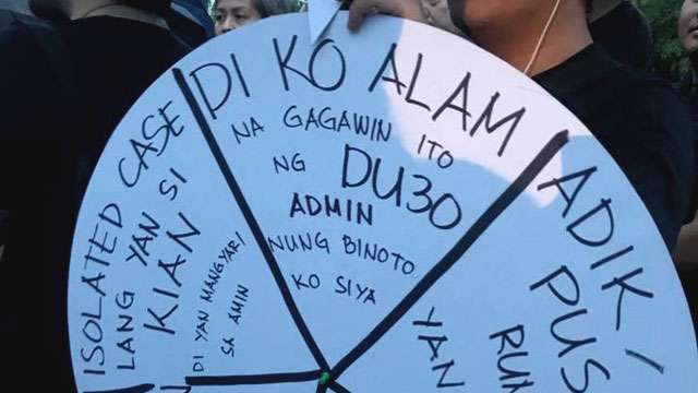 20 Extremely Honest Placards That Protest Duterte's War on Drugs