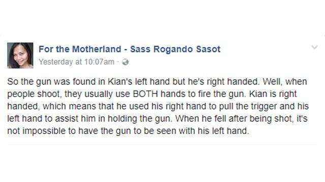 3 Viral Arguments From Staunch Duterte Supporters About Kian Delos Santos' Death