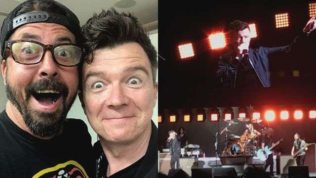 Foo Fighters And Rick Astley Collaborate On The Greatest Rickroll Ever