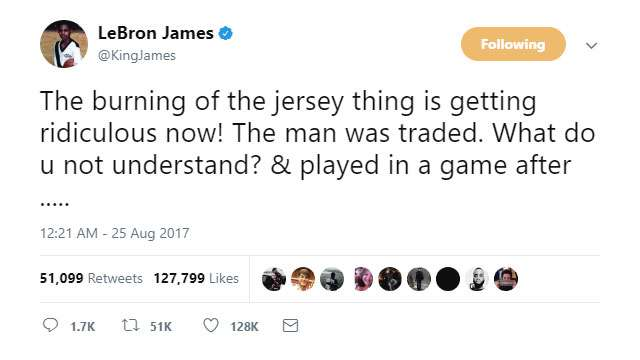 NBA Stars Defend Isaiah Thomas After Celtics Fans' Jersey-Burning