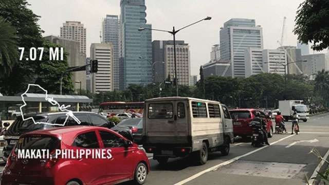 Ray Allen Is In Makati And He's Not A Fan Of Rush-Hour Traffic