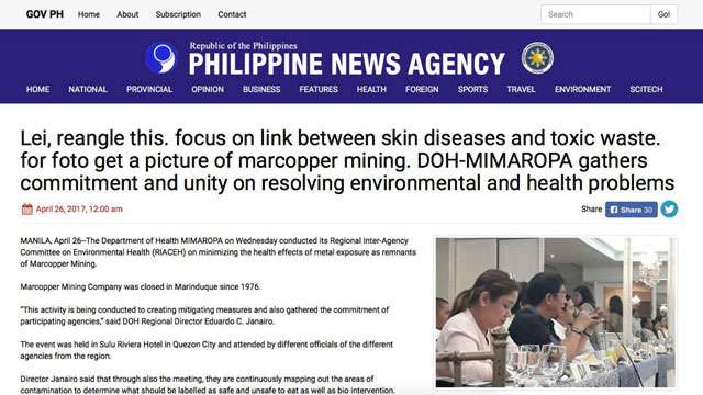 PNA Reopens Can Of Worms With New Blunder