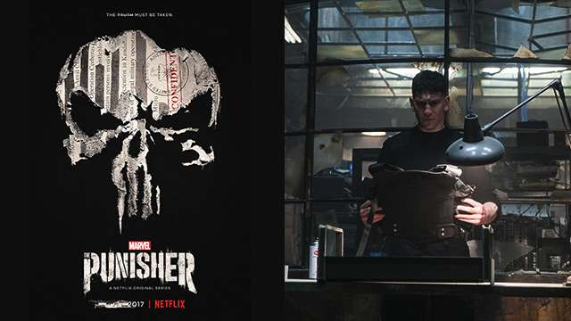 Here's Your First Look At 'Marvel's The Punisher'