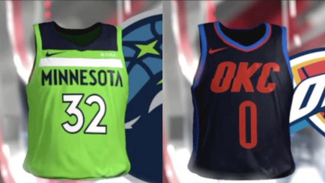 The 10 Best 'Statement' Jerseys Leaked By NBA 2K18