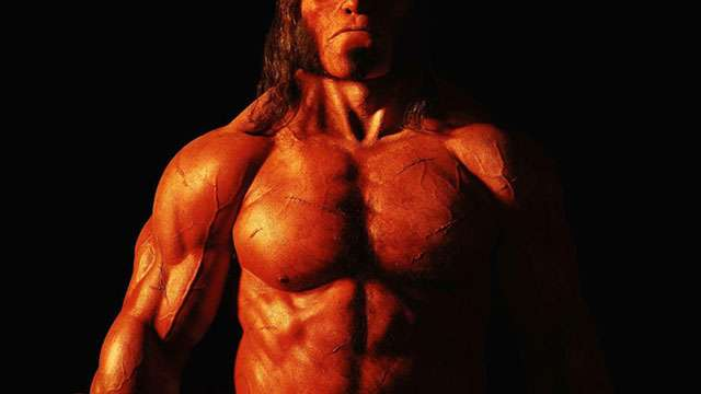 LOOK: The New Hellboy Looks Pretty Badass