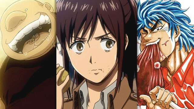 7 Anime Characters Who Are Always Hungry AF