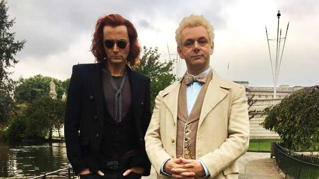 Get To Know 'Good Omens' Stars David Tennant and Michael Sheen Even Better
