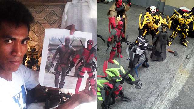 LOOK: This Dude Is Turning Discarded Slippers Into Sick Action Figures