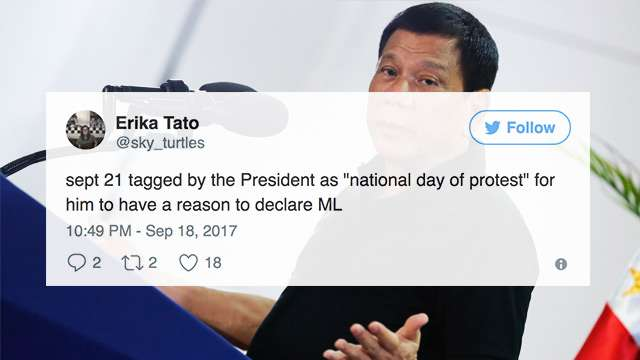The Most Relevant Reactions Over The 'National Day Of Protest'